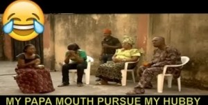 Short Comedy - My Papa Mouth Pursue My Hubby